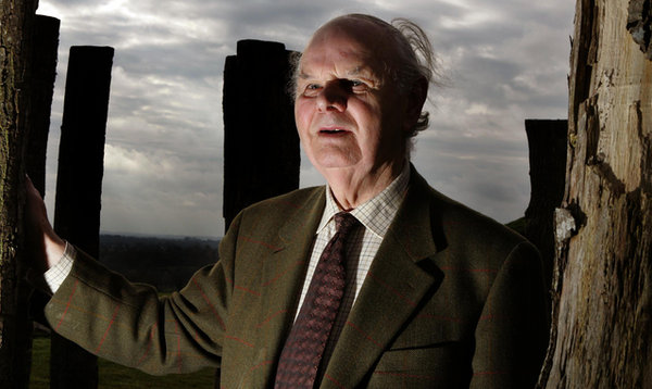 Prof. George Eogan at Knowth