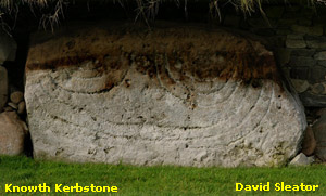 Knowth Kerbstone