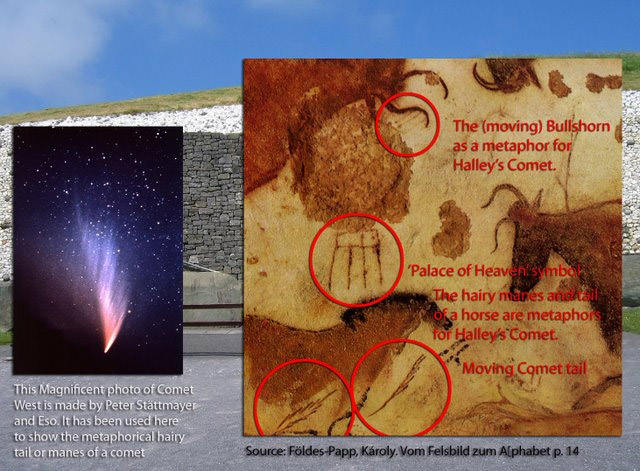 Is Newgrange related to apparitions of Halley's Comet