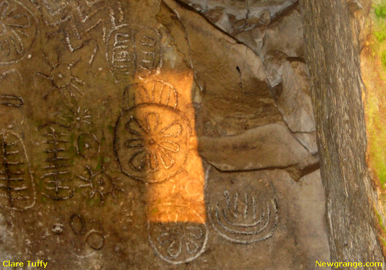 Loughcrew Ireland... Equinox-2009-chamber