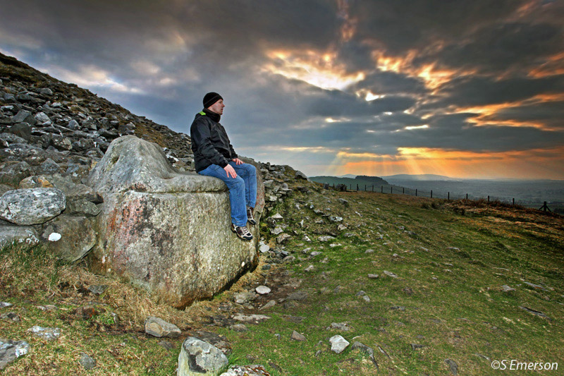 The Hags Chair - Loughcrew Cairn T