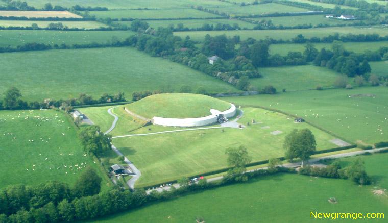 Newgrange Aerial Photograph