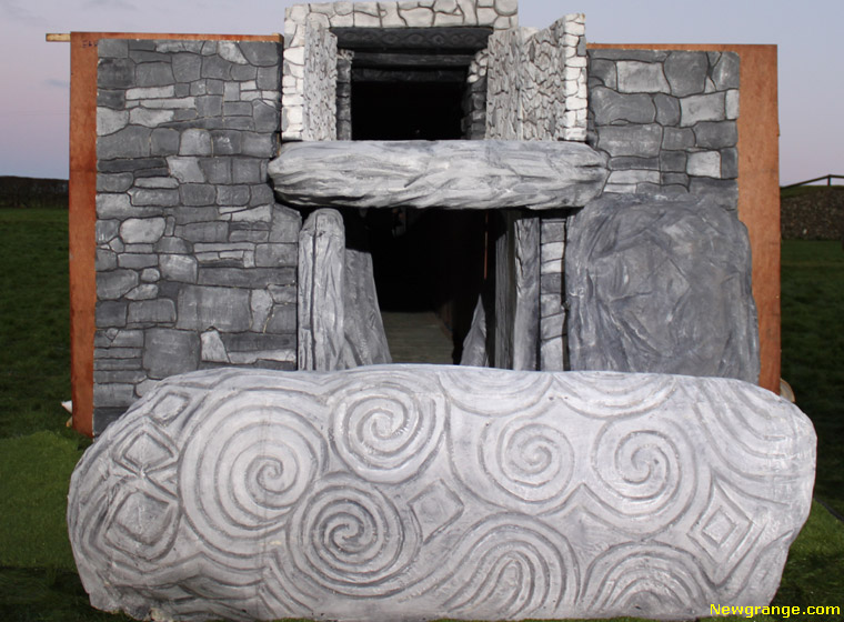 Newgrange Lightbox Project