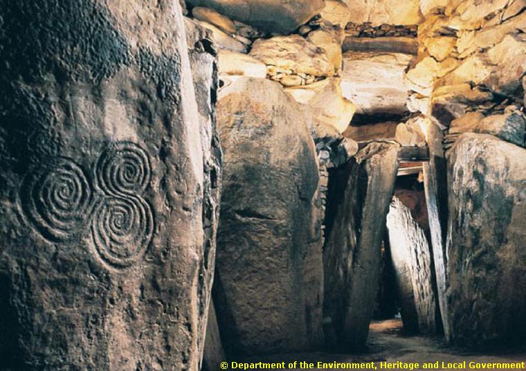Newgrange Interior