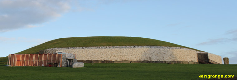 The Lightbox Project at Newgrange.