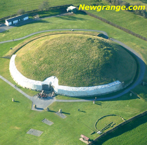 Newgrange Stone Age Passage Tomb - Boyne Valley, Ireland